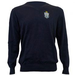 Koninklijke-HFC-Sweater-blauw